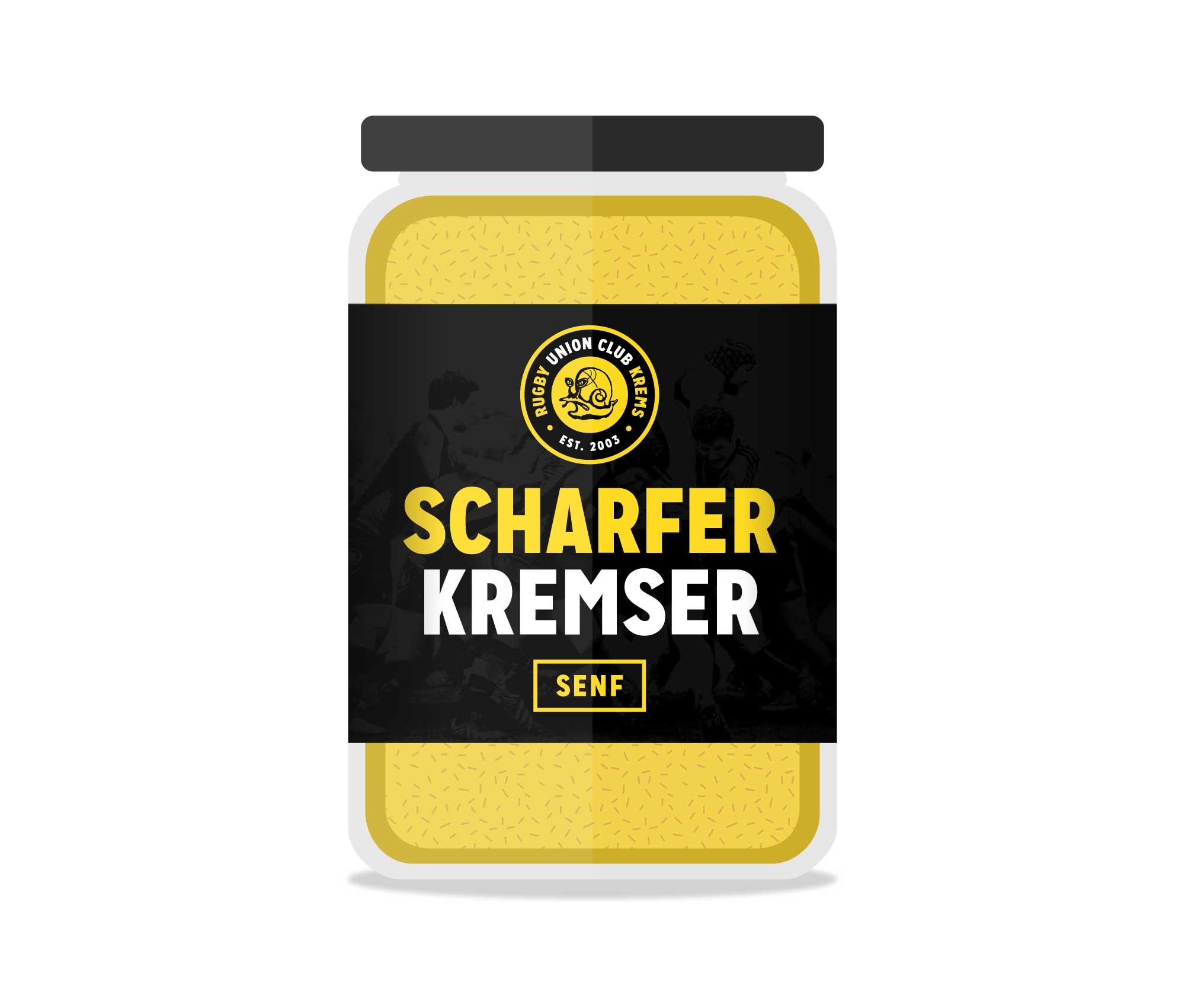 Scharfer Kremser Senf