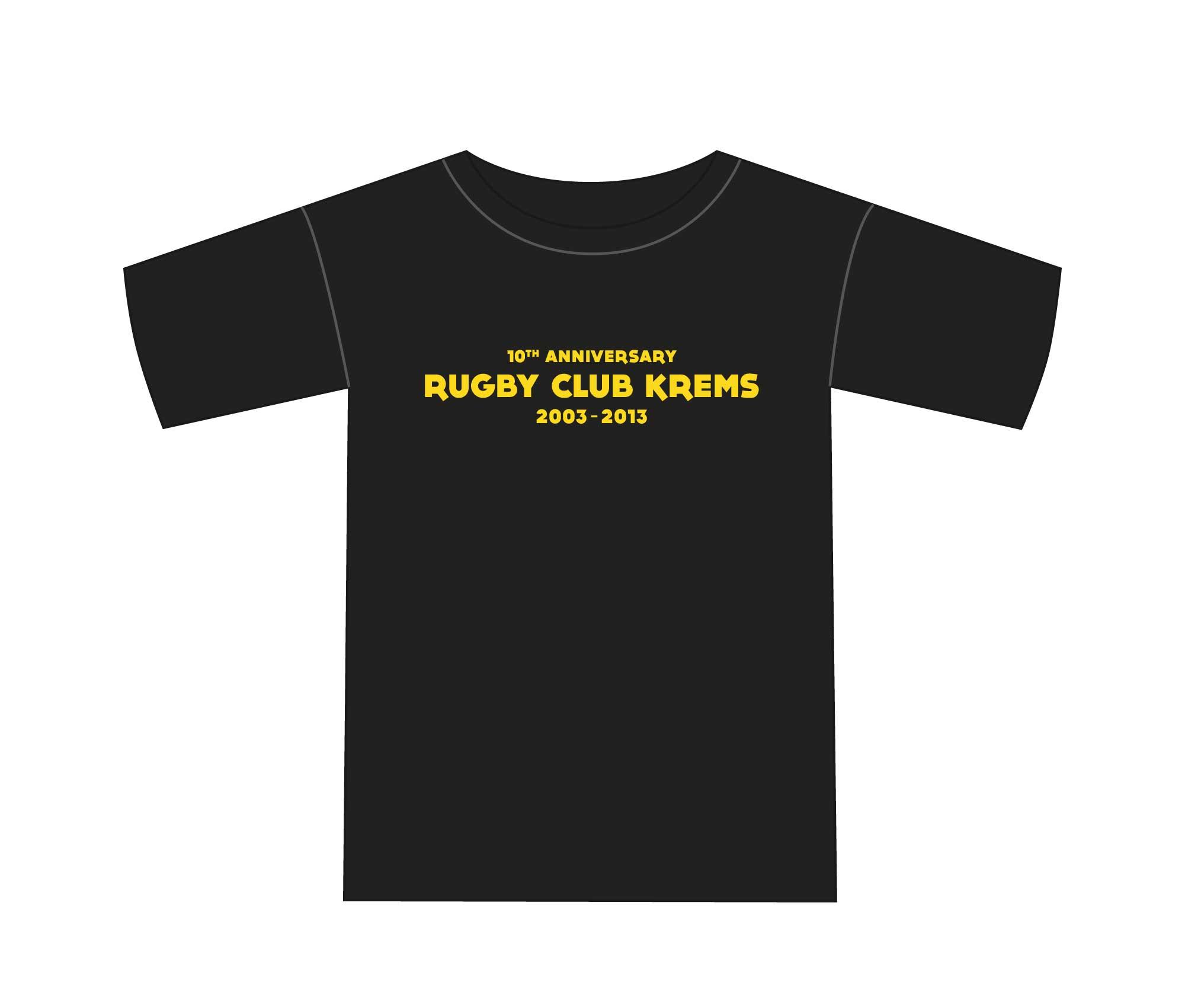 10-Jahre Rugby Club Krems Shirt